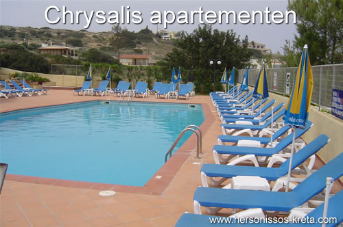 Chrysalis appartementen in Chersonissos.